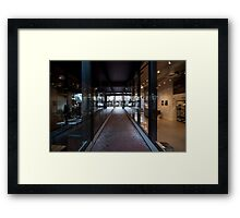 Gastown Shops Framed Print