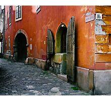 Anna Utca, Budapest Photographic Print