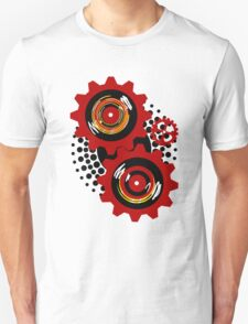 Red Gears Unisex T-Shirt