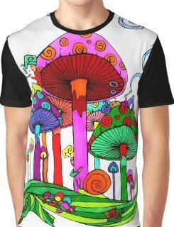 Five Little Gnomes Graphic T-Shirt
