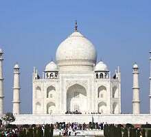 The Taj Mahal - 7 Wonders of the World by 3rdeyelens
