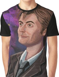 David Tennant the 10th Doctor Graphic T-Shirt