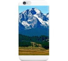 The Sawtooths iPhone Case/Skin