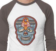 Red Rocks Sugar Skull Men's Baseball ¾ T-Shirt
