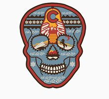 Red Rocks Sugar Skull Men's Baseball ¾ T-Shirt