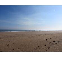 Desolate Sandy Beach  Photographic Print