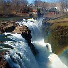 Rainbow over the Great Falls of the Passaic River by Jane Neill-Hancock