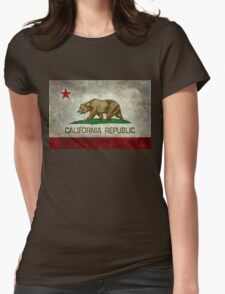 California Republic state flag - Vintage retro version T-Shirt
