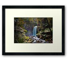 Hopetown Falls in the Otway National Park II Framed Print