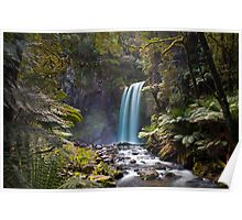 Hopetown Falls in the Otway National Park II Poster