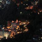 Shimla at Night, Himalayas, India by 3rdeyelens