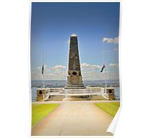 State War Memorial Poster