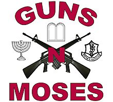 Guns 'n Moses Photographic Print