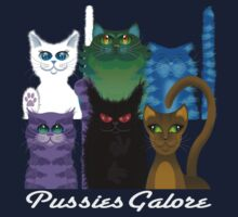 PUSSIES GALORE by peter chebatte