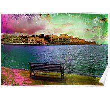 The Venetian Port of Chania II Poster