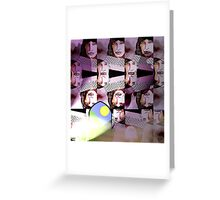 Outside the Wall Greeting Card