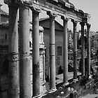 FORUM WITH A NOD TO PIRANESI by Thomas Barker-Detwiler