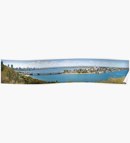 Swan River, Perth Poster