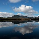 Bathurst Harbour - Mount Fulton reflections by clickedbynic