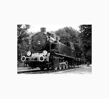 Locomotive stands on the station ... Unisex T-Shirt