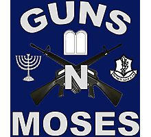Guns 'n Moses for Dark Colors Photographic Print