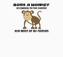 Born Year of The Monkey Chinese Zodiac Monkey Unisex T-Shirt