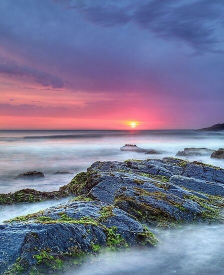 Scotts Head Sunrise by Annette Blattman