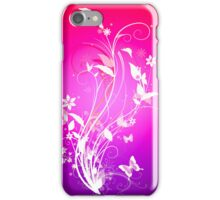 Bright butterfly iPhone Case/Skin