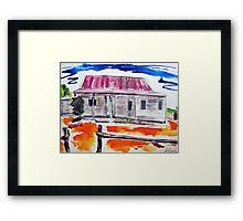 Outback Homestead Bright Framed Print