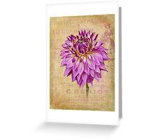 A La Belle Jardiniere Greeting Card