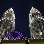 Petronas Towers at Night, Kuala Lumpur by 3rdeyelens