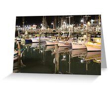 """Symmetry on Pier 45"", San Francisco Greeting Card"