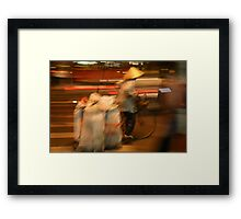 """Speed To Market!"", Ho Chi Minh City, Vietnam Framed Print"