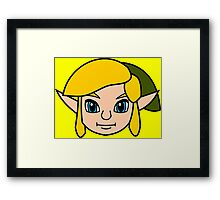 Ocarina of Yellow Framed Print