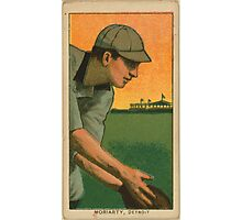 Benjamin K Edwards Collection George Moriarty Detroit Tigers baseball card portrait Photographic Print