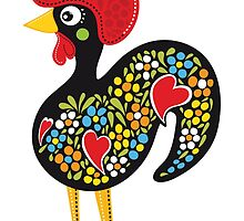 Symbols of Portugal - Rooster #07 by Silvia Neto