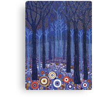Blue Forest 1 Canvas Print