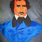 Edgar Allen Poe by Mistyarts