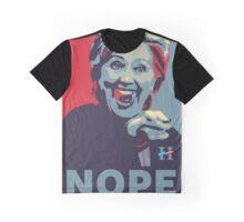 Hillary Clinton - Nope Graphic T-Shirt
