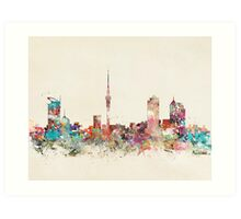 auckland new zealand Art Print