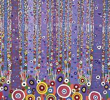 Purple Forest by David Newton