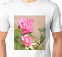 PINK ROSE BUDS Unisex T-Shirt