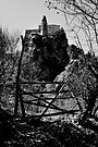 broken gate, Laurenzana, Basilicata, Italy by Andrew Jones