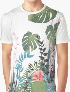 Tropical composition Graphic T-Shirt