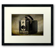 Brownie Hawkeye 2 Framed Print