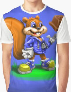 A Squirrel's Comeback Graphic T-Shirt