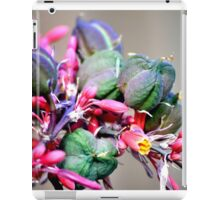 RED YUCCA BLOOMS BUDS AND PODS iPad Case/Skin