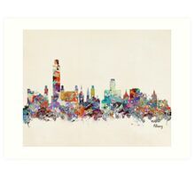 albany new york Art Print