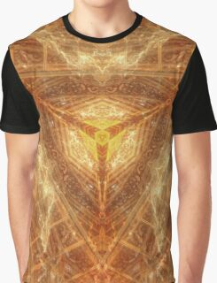 Sacred Geometry 04 - Psychedelic Cube Graphic T-Shirt