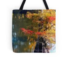 Autumn Cypress  Tote Bag
